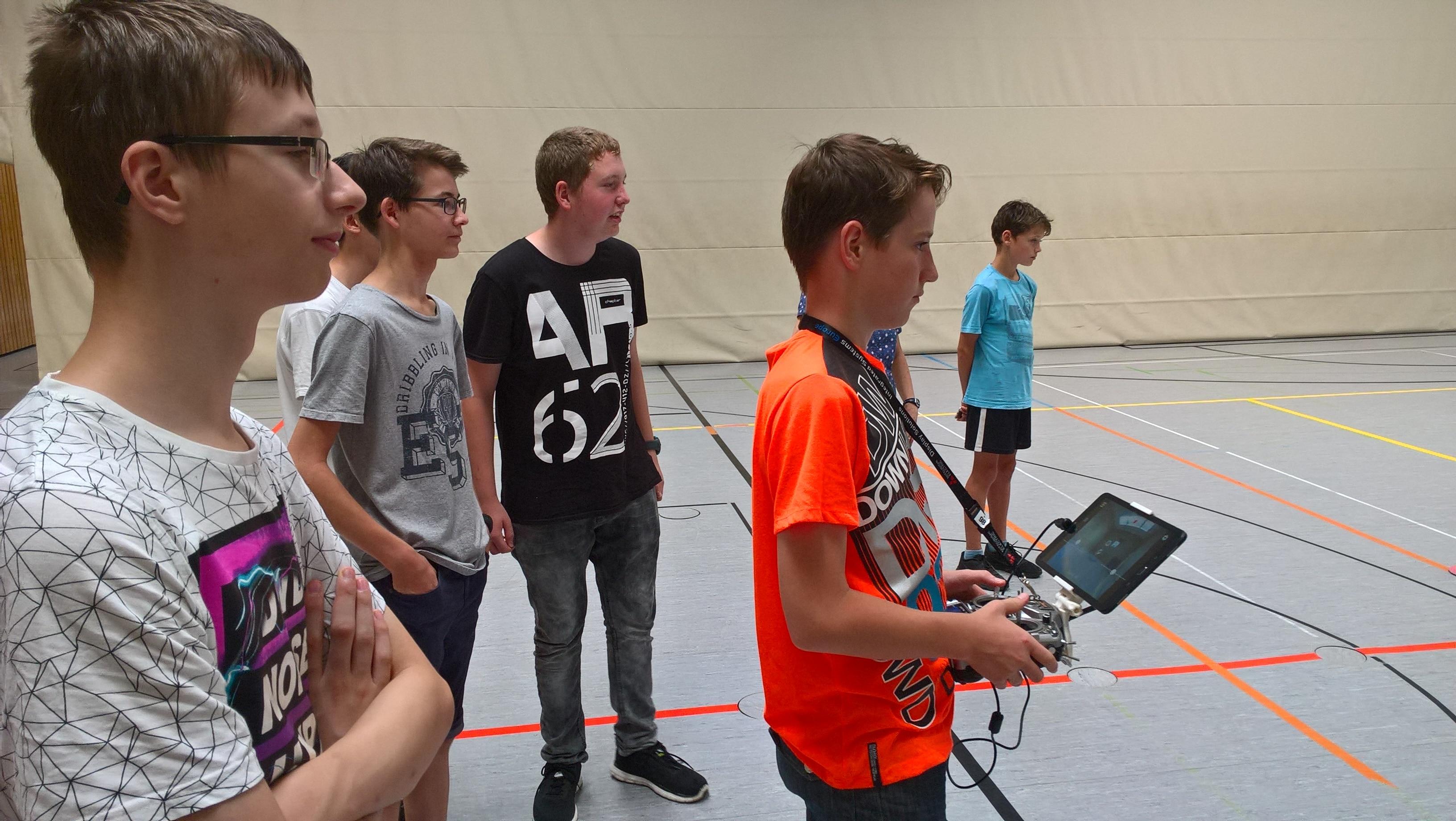 Flugtag am Hölderlin-Gymnasium Nürtingen