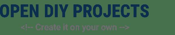 Open DIY Projects Logo